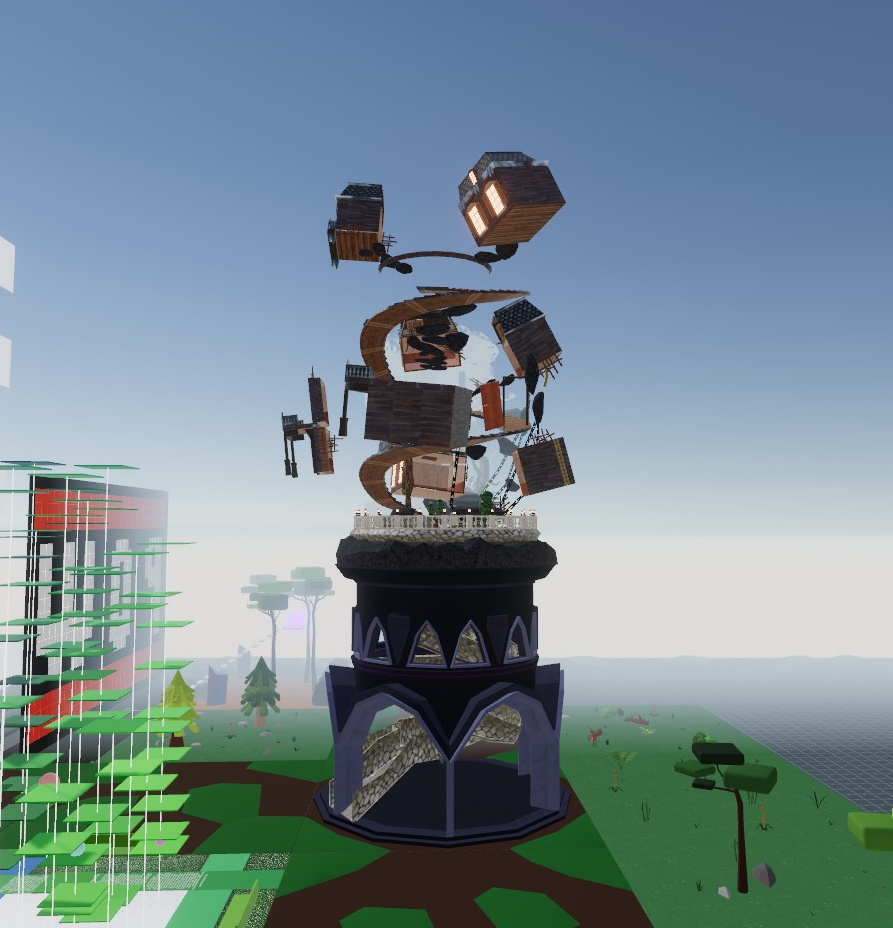South tower in Decentraland