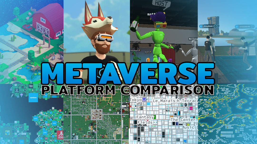 Metaverse Platforms Comparison Crypto Projects