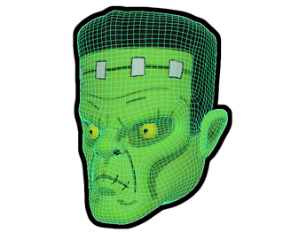 Franky avatar high poly