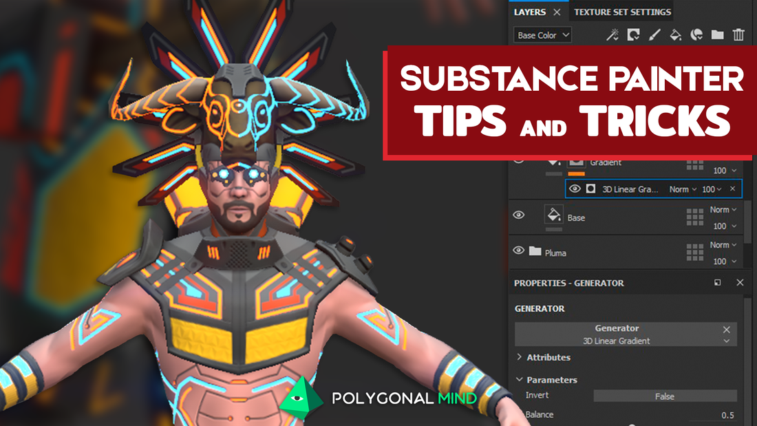 Substance Painter Tips and Tricks