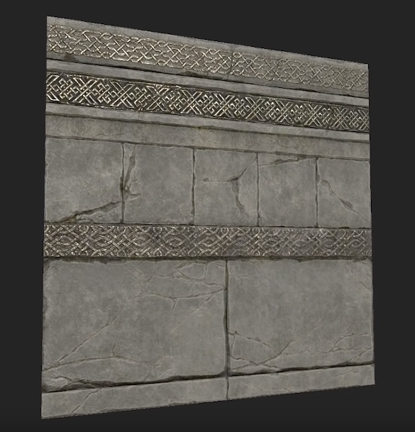 Wall tileable texture