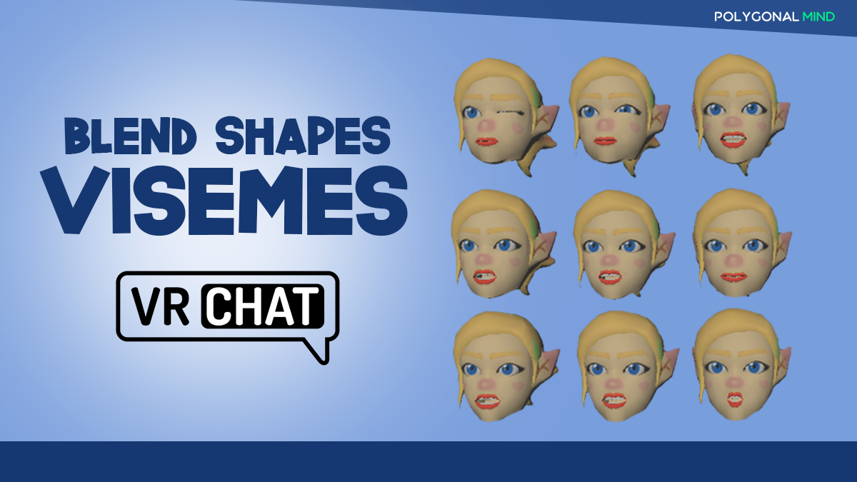 Blend shapes visemes in vrchat turorial